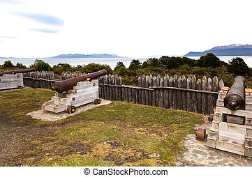 Fort Bulnes on Southermost Tip of Chile