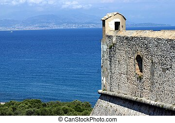 Fort carre, Antibes, French Riviera