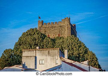 Fort Castillo in Braganza - Top of antique Fort Castillo of...