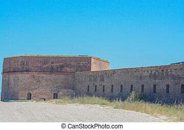 Fort Clinch State Park at Fernandina Beach on Amelia Island, Nassau County, Florida USA