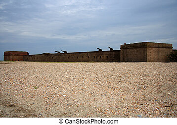 Fort Clinch stands guard on Amelia Island, Florida