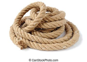 fort, corde, épais