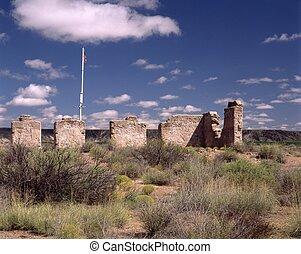 Fort Craig, Officer's Quarters