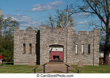 Fort D in Cape Girardeau, Missouri