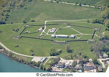 Fort George, aerial