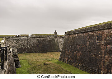 Fort George - Historic 18th Century Military Fortress near Inverness, Scotland