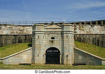 Fort Hancock, Sandy Hook, New Jersey Battery Potter