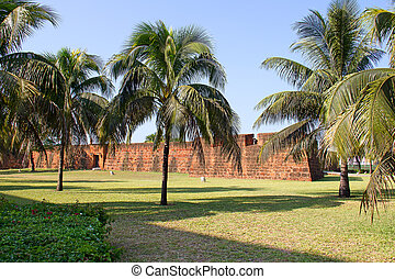 Old portugese fort in Maputo, Mozambique