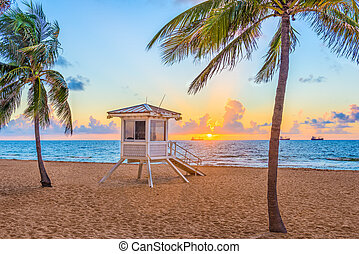 Fort Lauderdale Beach, Florida, USA