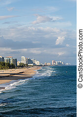 Fort Lauderdale Down Beach