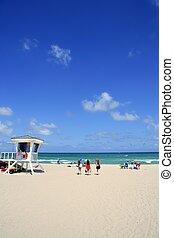 Fort Lauderdale Florida lifeguard beach house