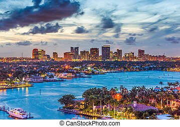 Fort Lauderdale, Florida Skyline