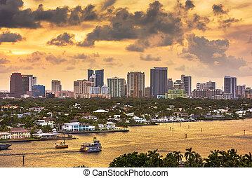 Fort Lauderdale, Florida, USA skyline