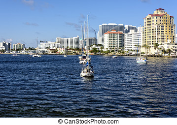 Fort Lauderdale Intercoastal Waterway