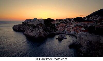 Fort Lovrijenac and wall of Dubrovnik, Croatia. - Fort ...