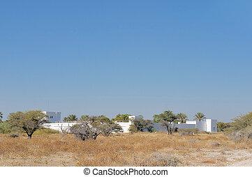 Fort Namutoni, Etosha National Park, Namibia
