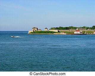 Fort Niagara - Picture of the Fort Niagara situated on the...