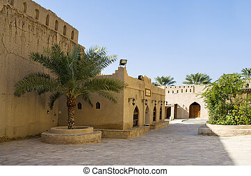 Fort of Nizwa, Oman. Middle East