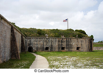 Fort Pickens near the city of Pensacola, Florida