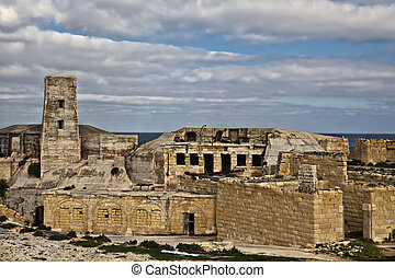 Fort Ricasoli - One of the largest forts in Malta, Fort...