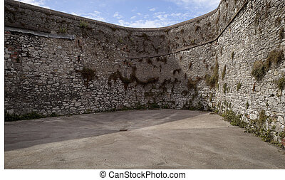 Fort Wall in Cork, Ireland