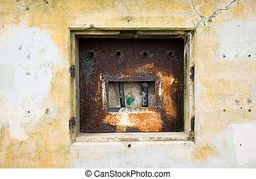 Fort Worden military bunker in Port Townsend Washington.