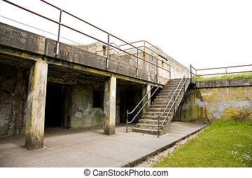 Fort Worden Bunker - Fort Worden military bunker in Port...