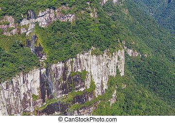 Fortaleza Canyon Waterfall