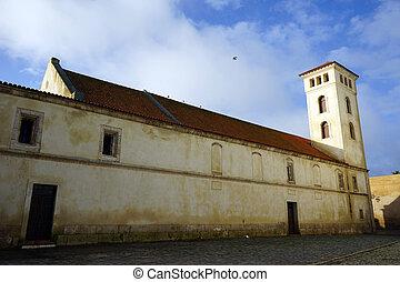fortaleza, iglesia