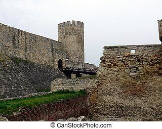 fortaleza, kalemegdan, en, belgrado, serbia