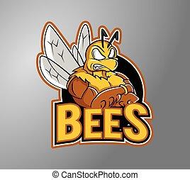 forte, abelha