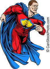 forte, superhero