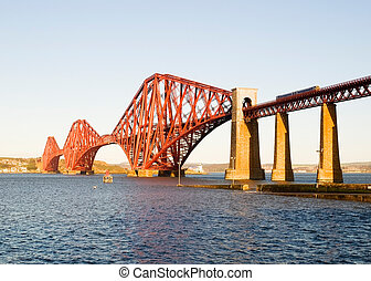 Forth Bridge in Scotland