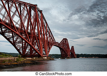Forth Rail Bridge, Edinburgh Scotland