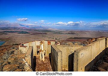 fortificaciones, bental, monte