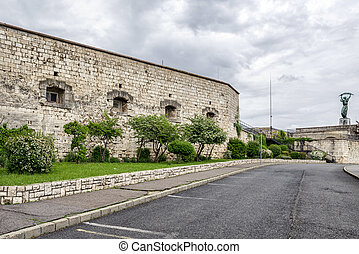 Fortification Citadella in Budapest, Hungary
