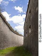 Fortification moat