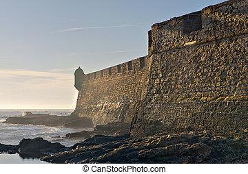 Amazing fortification in Spain. High density range image