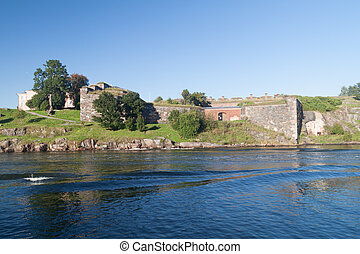 Fortifications at Suomenlinna Sveaborg , sea fortress near ...