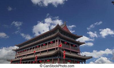 Fortifications of Xian.China - Fortifications of Xian (Sian,...