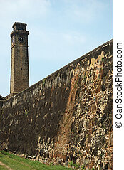 Fortifications Old Town of Galle,Ceylon