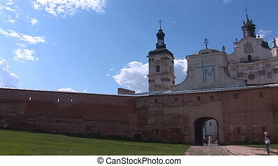 Fortified Carmelite monastery a