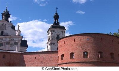 Fortified Carmelite monastery b