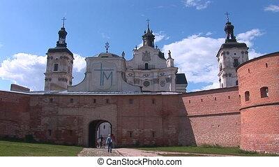 Fortified Carmelite monastery c
