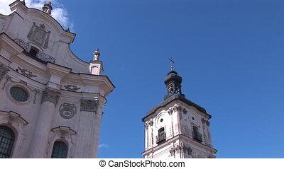 Fortified Carmelite monastery h