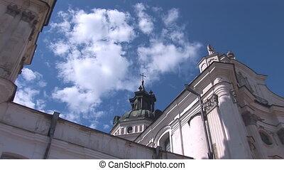 Fortified Carmelite monastery m