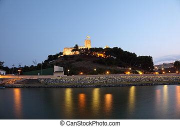 Fortress Castillo Sohail in Fuengirola, Spain
