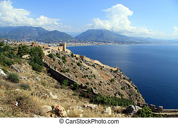 Fortress in Alanya