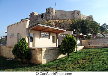 Fortress in Gaziantep - Big fortress on the top of hill in ...