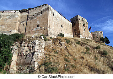 Fortress in Gaziantep - Fortress on the top of hill in ...